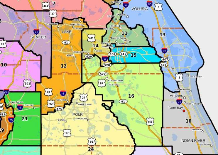Florida House Considers Redistricting Map   Central Florida News