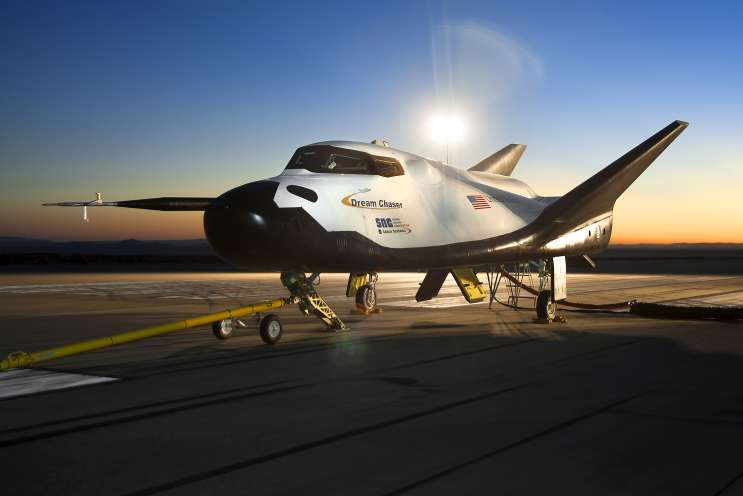 Sierra Nevada's Dream Chaser joins SpaceX's Dragon and Orbital ATK's Cygnus spacecraft in resupply the International Space  Station starting in 2019. Photo: Sierra Nevada