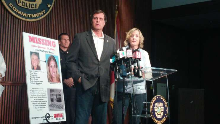 Jennifer Kesse's parents, Drew and Joyce, are urging the public to come forward with any information.