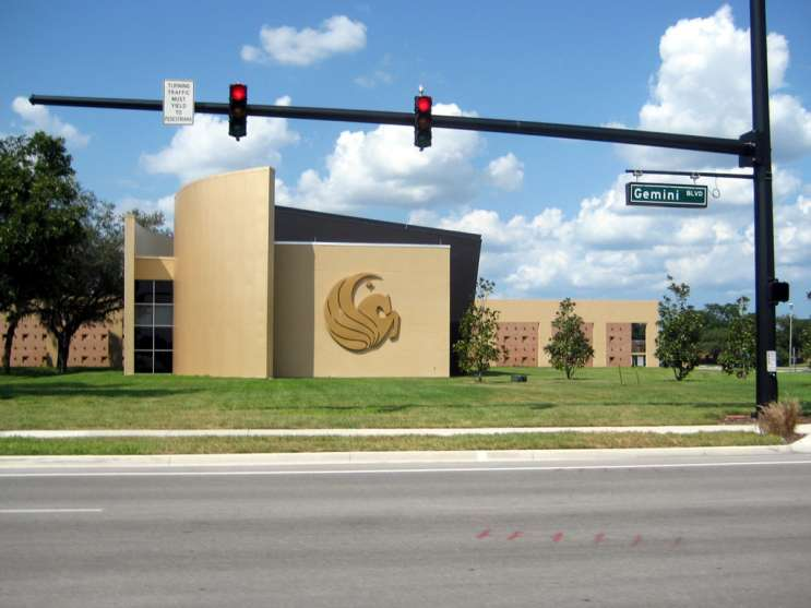 UCF Welcome Center. Photo Credit: Keone via. Flickr