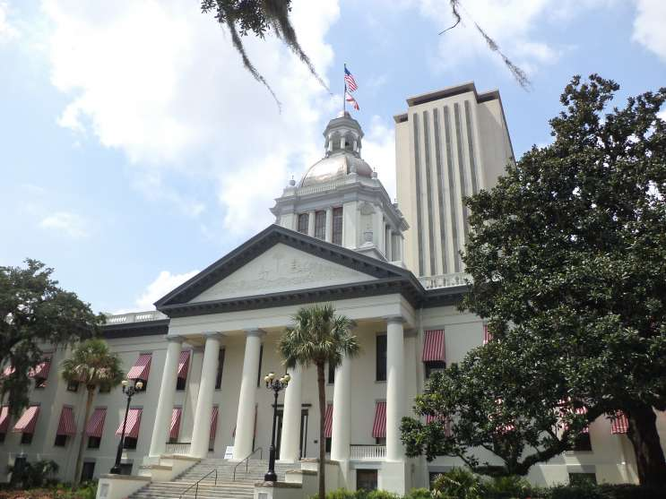 Florida Capitol Building in Tallahassee