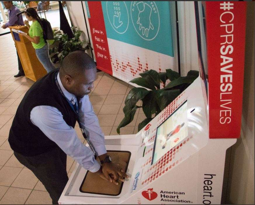 Cpr Training Kiosks Debut At Orlando International Airport Local